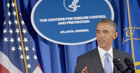 Obama Pledges Aid and U.S. Manpower to Fight Ebola