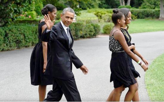 Pres. Obama and Family Attend Wedding of White House Chef and MSNBC Host