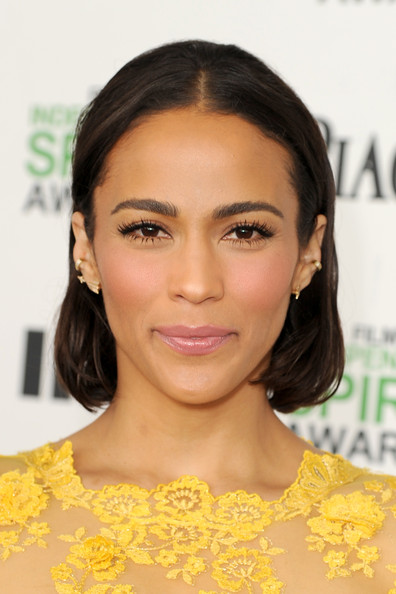Actress Paula Patton attends the 2014 Film Independent Spirit Awards at Santa Monica Beach on March - paula-patton