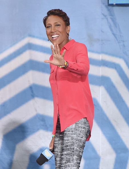 """Good Morning America"" co-host Robin Roberts is 55"