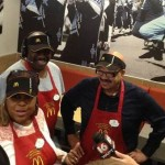 Tom Joyner Helped Set New Record for McDonald's: Serving Customers