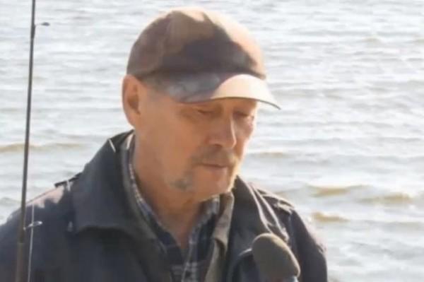 Fisherman Alexander Korobov
