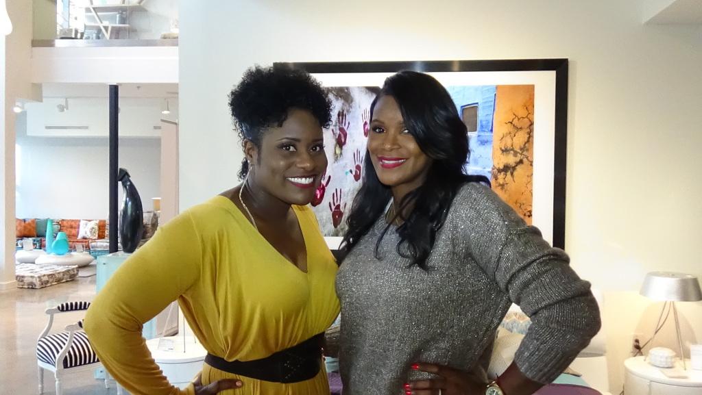JaQuitta Williams and Tameka Raymond