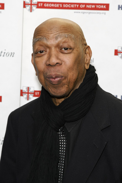 Actor Geoffrey Holder attends the 2010 Anglo-American Cultural Gala Awards reception at the Gerald W. Lynch Theatre at John Jay College on October 25, 2010 in New York City
