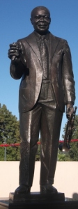 Statue of Louis Armstrong: Photo Credit, Ricky Richardson