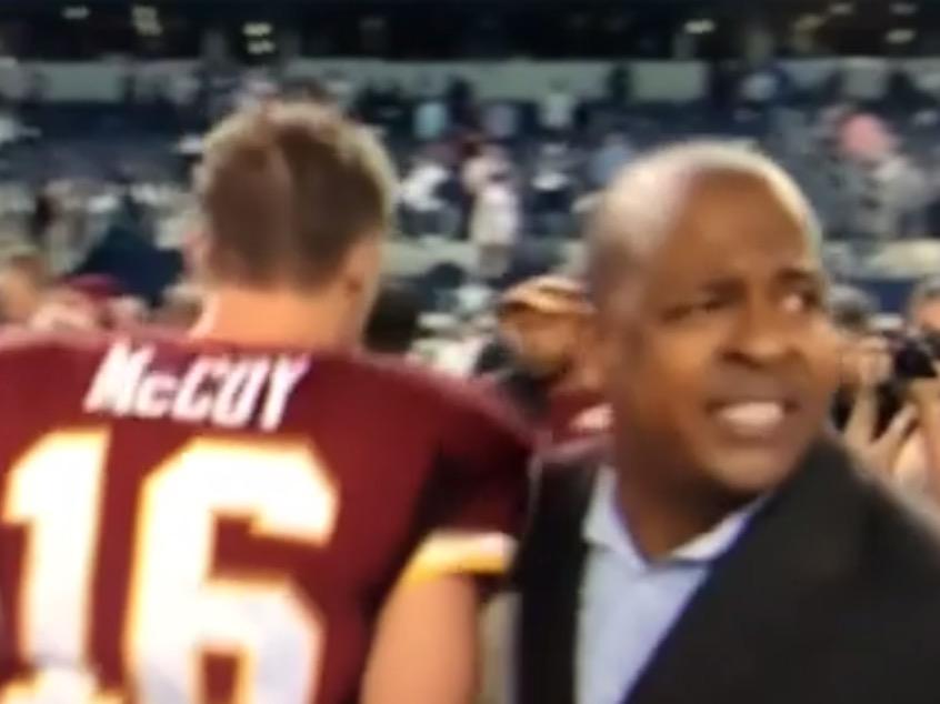 Colt McCoy & Tony Wyllie