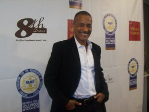 "Phil Morris (BET's ""Lov That Girl"") at the NAACP 7th Annual Theatre Festival. (Photo credit: Eunice Moseley)"