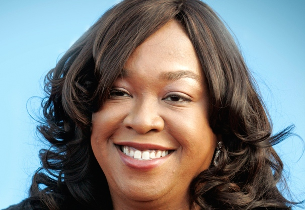 "Producer and writer Shonda Rhimes, creator of the  ""Grey's Anatomy"" television series arrives at 39th Annual NAACP Image Awards in Los Angeles"