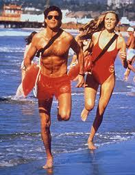 """David Hasselhoff in the original TV series """"Baywatch"""""""