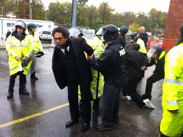 cornel west arrested