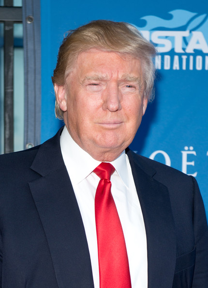 Donald Trump attends the 14th Annual USTA Opening Night Gala at USTA Billie Jean King National Tennis Center on August 25, 2014 in New York City