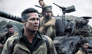 Brad Pitt stars in and executive produce the Columbia Pictures' presentation of Fury, an American Tank Team.