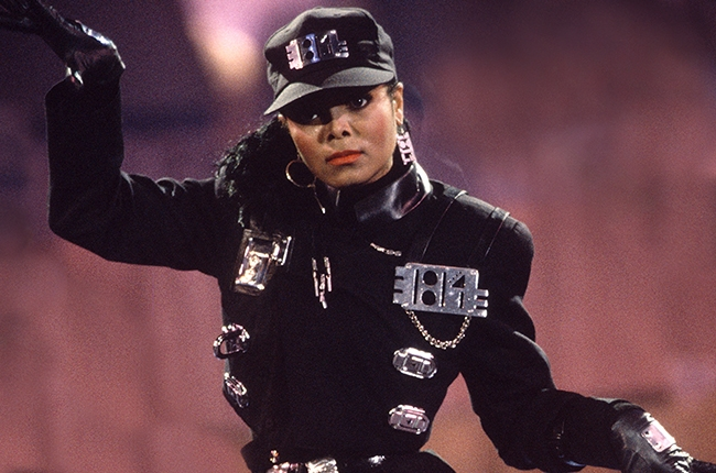Beyonce in Janet Jackson 'Rhythm Nation' Costume for ...