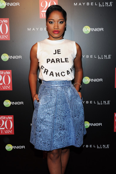 Keke Palmer attends the Instyle Hosts 20th Anniversary Party at Diamond Horseshoe at the Paramount Hotel on September 8, 2014 in New York City