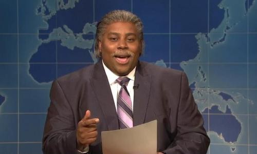 SNL Spoofs NY Times Secret Service Story - SNL's Keenan Thompson Spoofs Al Sharpton