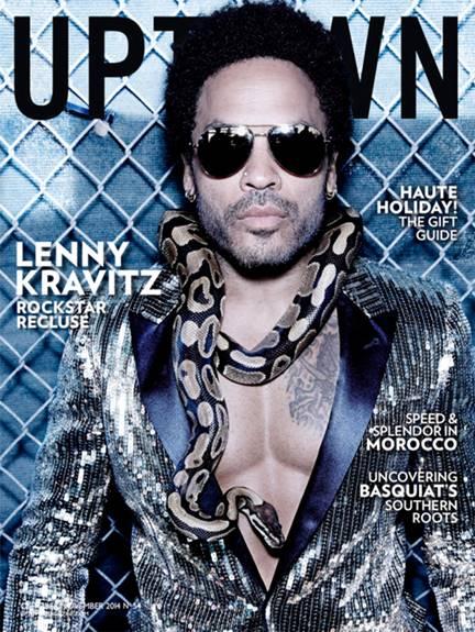 lenny kravitz uptown magazine cover