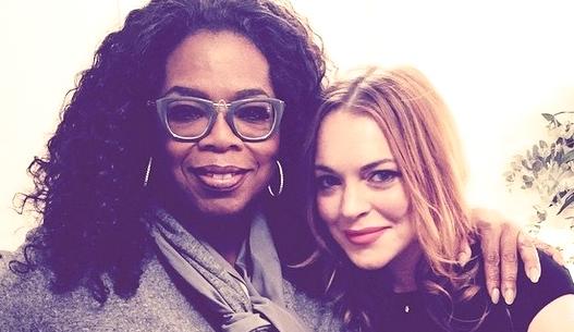 lindsay and oprah