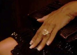 marjorie harvey's 25-carat wedding ring