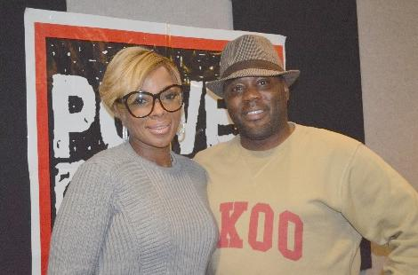 Mary J. Blige Gives Up The 411 On The London Sessions