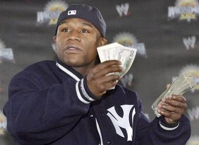 NFL Winnings Another Reason Mayweather Is Money