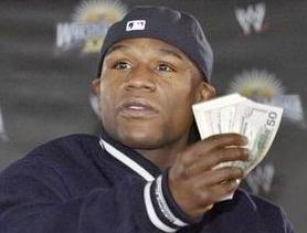 mayweather with money1