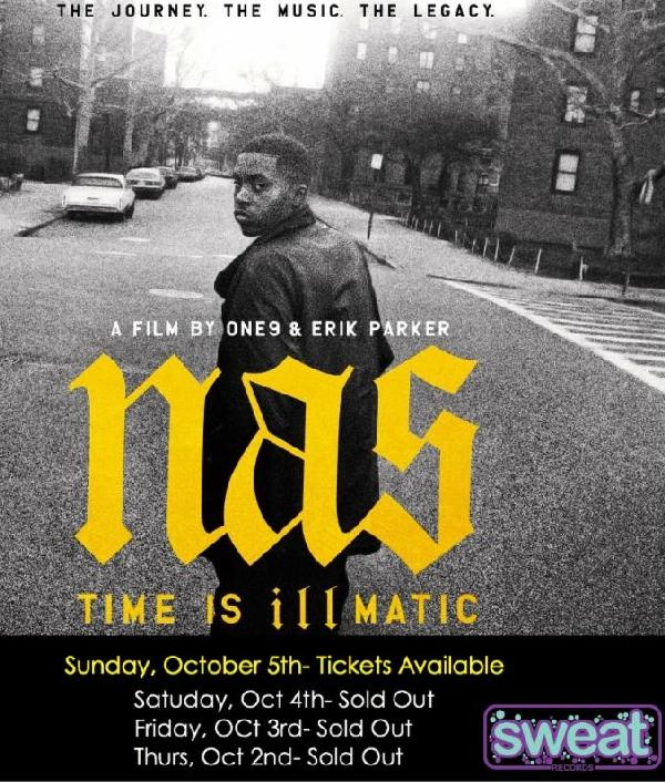 Nas Time Is Illmatic Hits Theaters In Los Angeles And New York