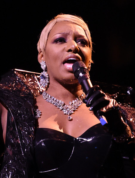 NeNe Leakes performs during a preview for her 10-show guest engagement as 'The Mistress of Sensuality' in 'Zumanity, The Sensual Side of Cirque du Soleil' in celebration of the show's 10th anniversary at the New York-New York Hotel & Casino on June 23, 2014 in Las Vegas, Nevada