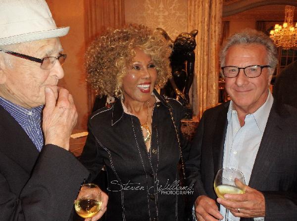 Norman Lear, Ja'net Dubois  & Dustin Hoffman