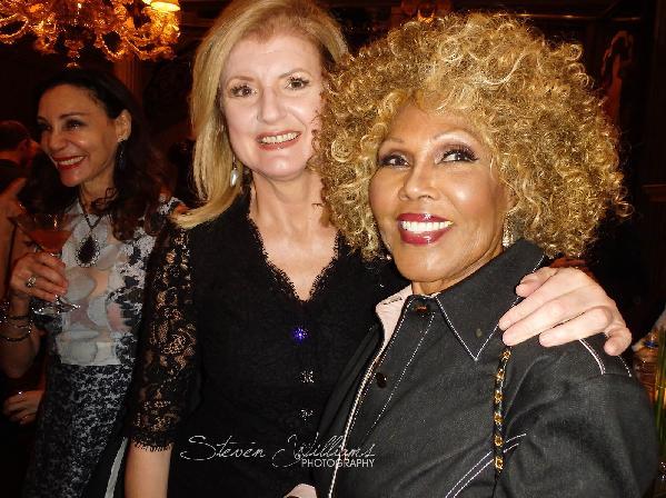 Arianna Huffington (Huffington Post)  & Ja'net Dubois
