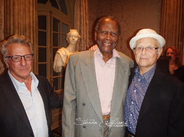 Dustin Hoffman, Sidney Poitier & Norman Lear