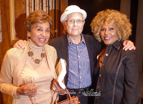 Marla Gibbs, Ja'net Dubois & Sidney Poitier At Norman Lear Book Signing