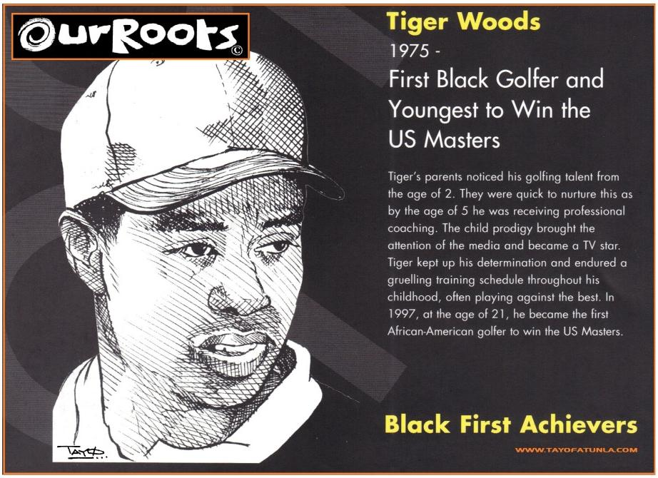our roots - tiger woods