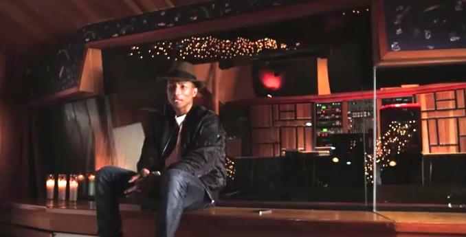 """Pharrell Williams in HBO's """"Sonic Highways"""""""