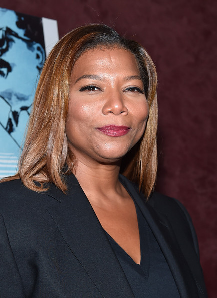 TV host Queen Latifah arrives to the premiere of RADIUS-TWC's 'Keep On Keepin' On' at Landmark Theatre on September 17, 2014 in Los Angeles, California