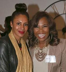 Chenoa Maxwell and Mona Scott-Young