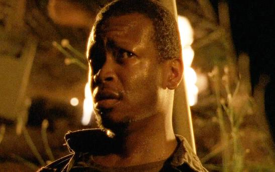 """Lawrence Gilliard Jr. as Bob in AMC's """"The Walking Dead"""""""