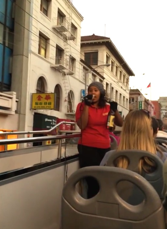 tour guide racist rant
