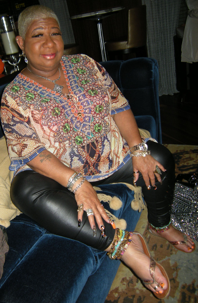 EUR Exclusive: Luenell at Home in Horror Film Matthew 18
