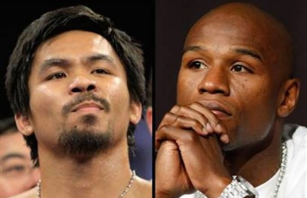 Manny Pacquiao & floyd mayweather