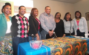 Layla Sewell, Dexter McLeod,Nylah Davis,Randy Hughes,Valencia Queen,Pauline Giscombe and Tunua Thrash