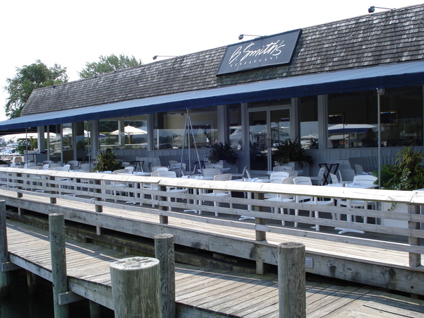 B. Smith Restaurant in Sag Harbor