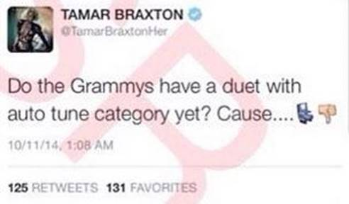Tamar Braxton tweet