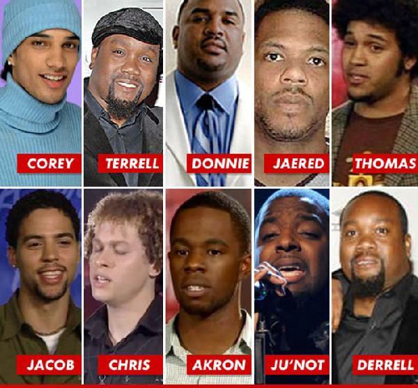 american idol black contestants