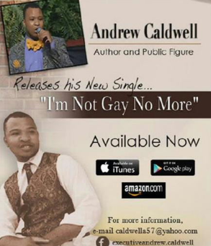 Andrew 'I'm Not Gay No More!' Caldwell Target of Church Lawsuit?