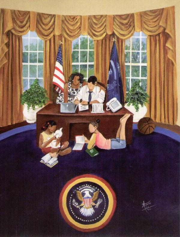 The Oval Office - Annie Lee