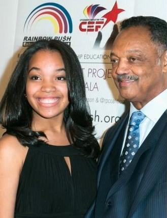 Jesse Jackson's Daughter (Ajae) Wants to be Her Own Woman
