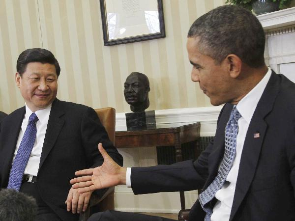 Chinese President Xi Jinping and US President Barack Obama