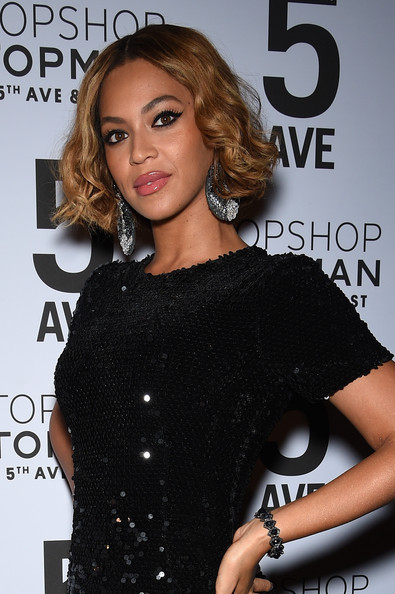 Beyonce Knowles attends the Topshop Topman New York City flagship opening dinner at Grand Central Terminal on November 4, 2014 in New York City