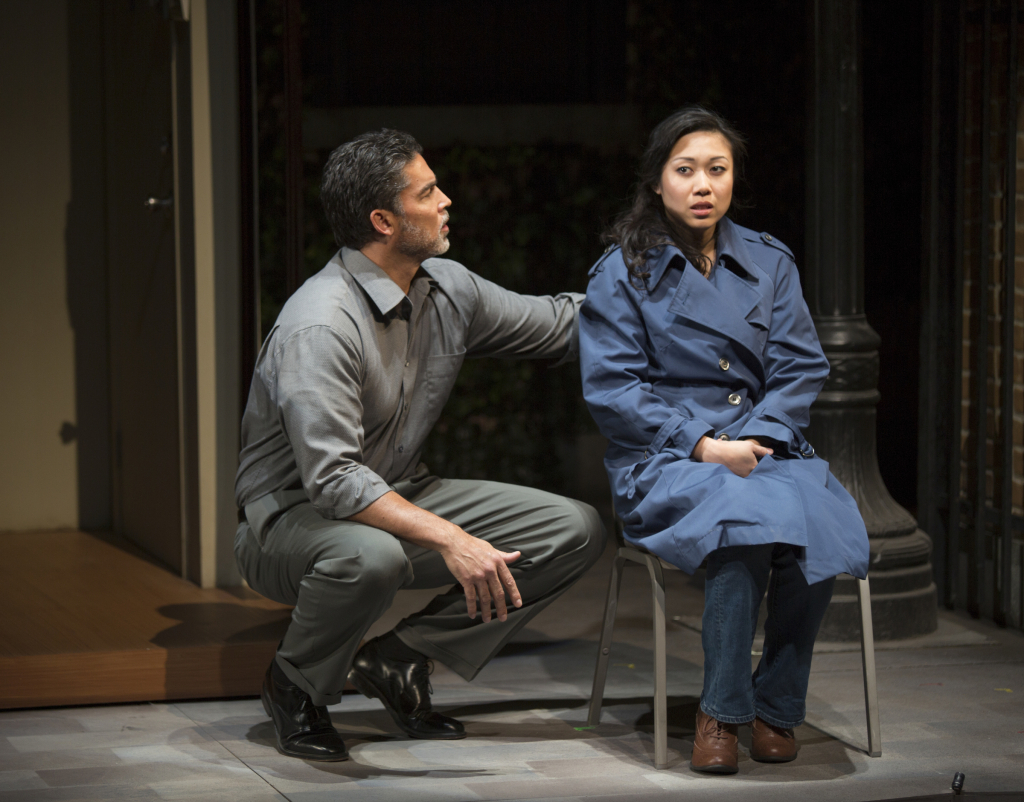 Jeff De Serrano  (L) and Angela Lin