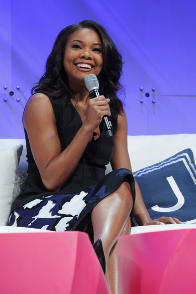 Actress Gabrielle Union speaks onstage during Cosmopolitan Magazine's Fun Fearless Life Conference powered by WME Live at The David Koch Theatre at Lincoln Center on November 9, 2014 in New York City.